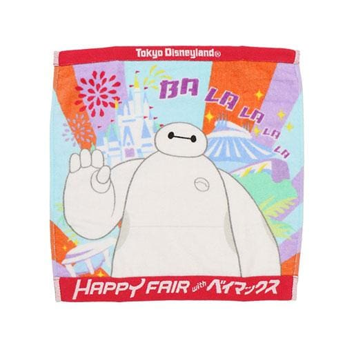 Pre-Order Tokyo Disney Resort 2021 Happy Fair with Baymax Big Hero 6 Mini Towel - k23japan -Tokyo Disney Shopper-