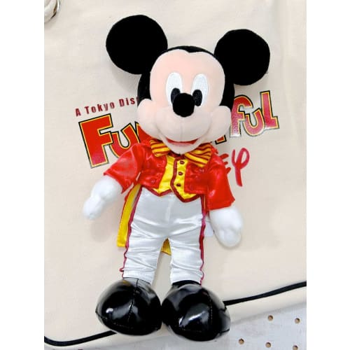 Pre-Order Tokyo Disney Resort 2021 Official Fan Club LE Plush Mickey Funderful - k23japan -Tokyo Disney Shopper-