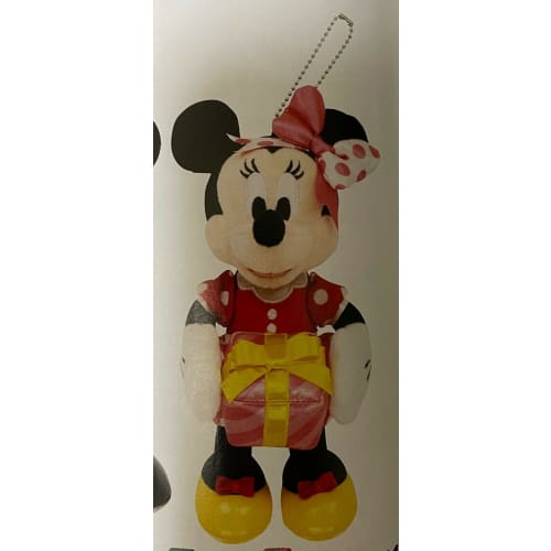 Pre-Order Tokyo Disney Resort 2021 Plush Badge My Happiest Birthday Minnie - k23japan -Tokyo Disney Shopper-