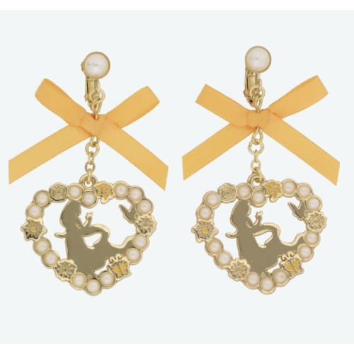 Pre-Order Tokyo Disney Resort 2021 Princess Earrings Set Rapunzel Ribbon - k23japan -Tokyo Disney Shopper-