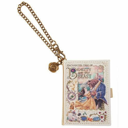 Pre-Order Tokyo Disney Resort Button 2020 Beauty & The Beast Pass Card Case - k23japan -Tokyo Disney Shopper-
