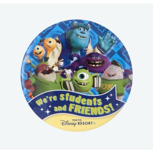 Pre-Order Tokyo Disney Resort Button Were Students Friends Monsters University - K23Japan -Tokyo Disney Shopper-