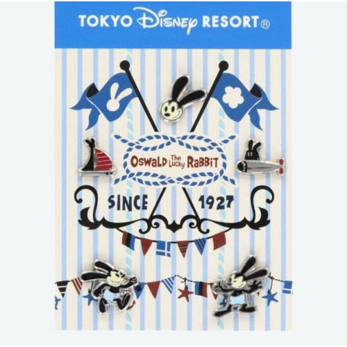 Pre-Order Tokyo Disney Resort Earrings Oswald The Lucky Rabbit - K23Japan -Tokyo Disney Shopper-