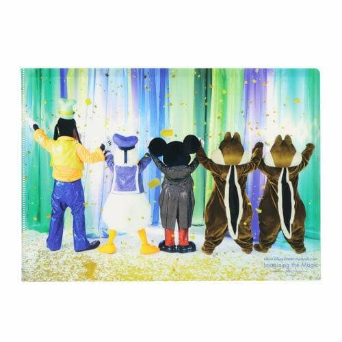 Pre-Order Tokyo Disney Resort Imagining The Magic Clear File Mickey & Friends - k23japan -Tokyo Disney Shopper-