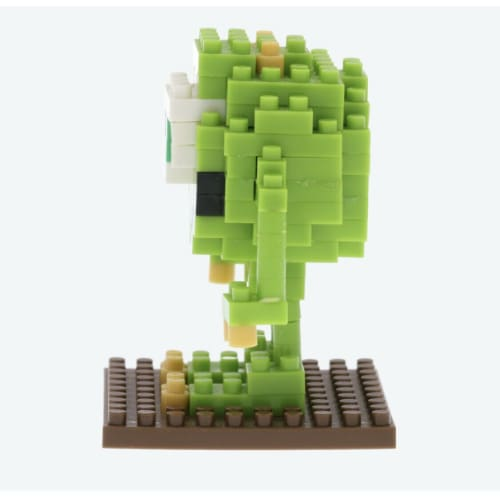 Pre-Order Tokyo Disney Resort Nano Block Mike From Monsters Inc - k23japan -Tokyo Disney Shopper-