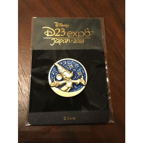 Rare!! Disney D23 Expo Japan 2018 Pin Fantasia Mickey Not For Sale - K23Japan -Tokyo Shopper-