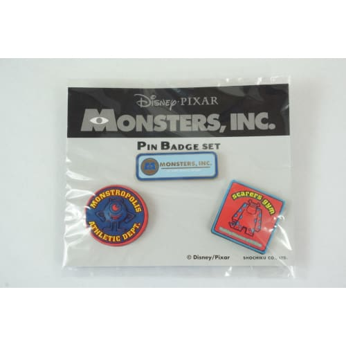 Rare!! Disney Japan Theater Le Pin Monsters Inc Sulley & Mike Shochiku - K23Japan -Tokyo Shopper-