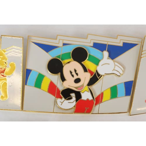 Rare!! Disney Store Japan Pin Le 2001 Maihama 1St Anniversary Complete 10 - K23Japan -Tokyo Shopper-