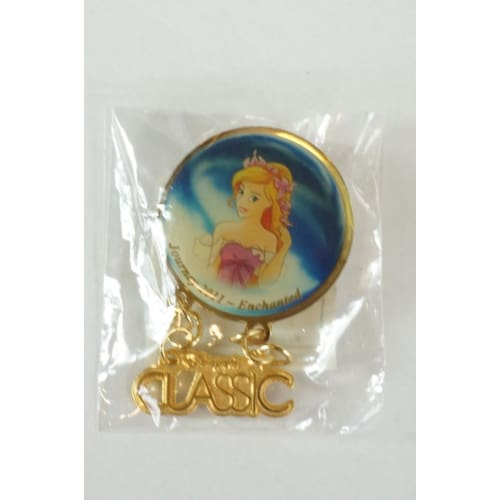 S Rare Disney On Classic Japan Le Pin Giselle From Enchanted Not For Sale - K23Japan -Tokyo Shopper-