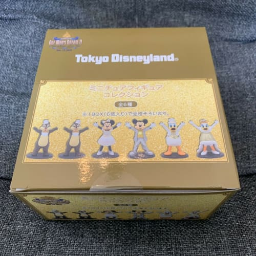 Tokyo Disney Resort One Man's Dream Forever Figure 6 Completed Set Box - k23japan -Tokyo Disney Shopper-
