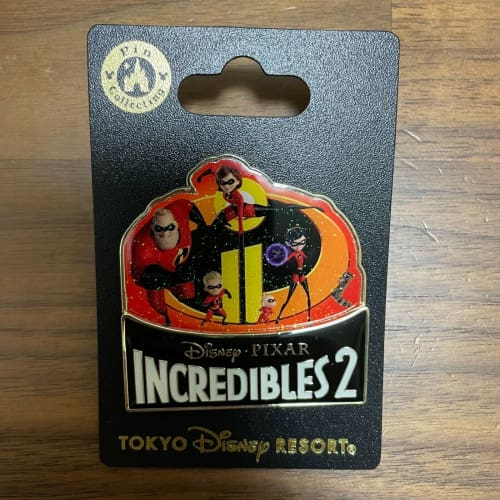 Tokyo Disney Resort Pin 2020 Incredibles 2 Pixar Mr. Incredibles - k23japan -Tokyo Disney Shopper-