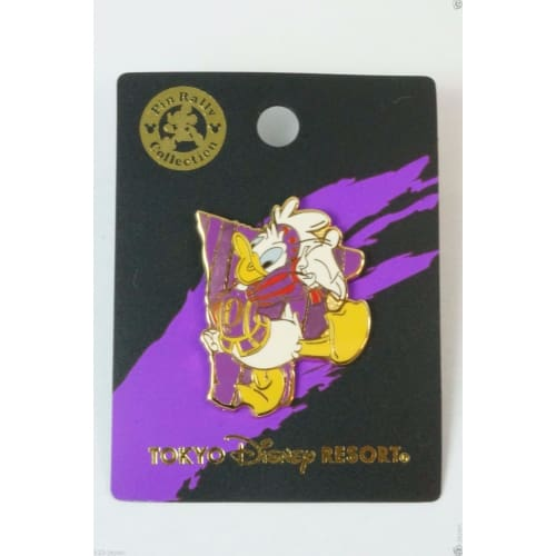 Tokyo Disney Resort Pin Rally Collection Rhythms Of The World Donald - K23Japan -Tokyo Shopper-