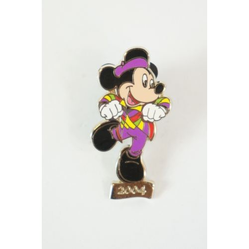 Tokyo Disney Resort Pin Tdr 30Th Collectible Mickey #20 Rhythms Of World 2004 - K23Japan -Tokyo Shopper-
