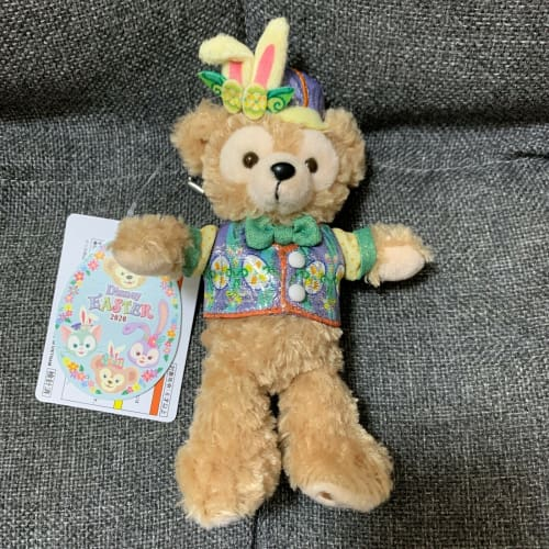 Tokyo Disney Resort Disney SEA Duffy Friends Easter 2020 Plush Badge Duffy - k23japan -Tokyo Disney Shopper-