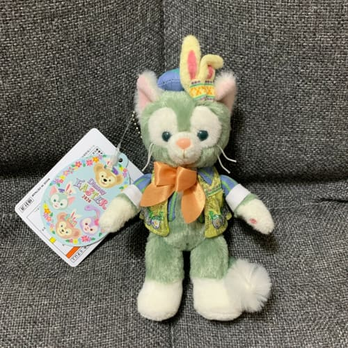 Tokyo Disney Resort Disney SEA Duffy Friends Easter 2020 Plush Badge Gelatoni - k23japan -Tokyo Disney Shopper-