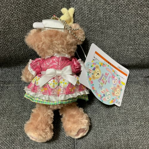 Tokyo Disney Resort Disney SEA Duffy Friends Easter 2020 Plush Badge ShellieMay - k23japan -Tokyo Disney Shopper-