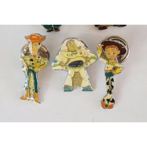 V Rare!! Disney Store Japan Pin Mini Series Toy Story Ii 5 Piece Jds - K23Japan -Tokyo Shopper-