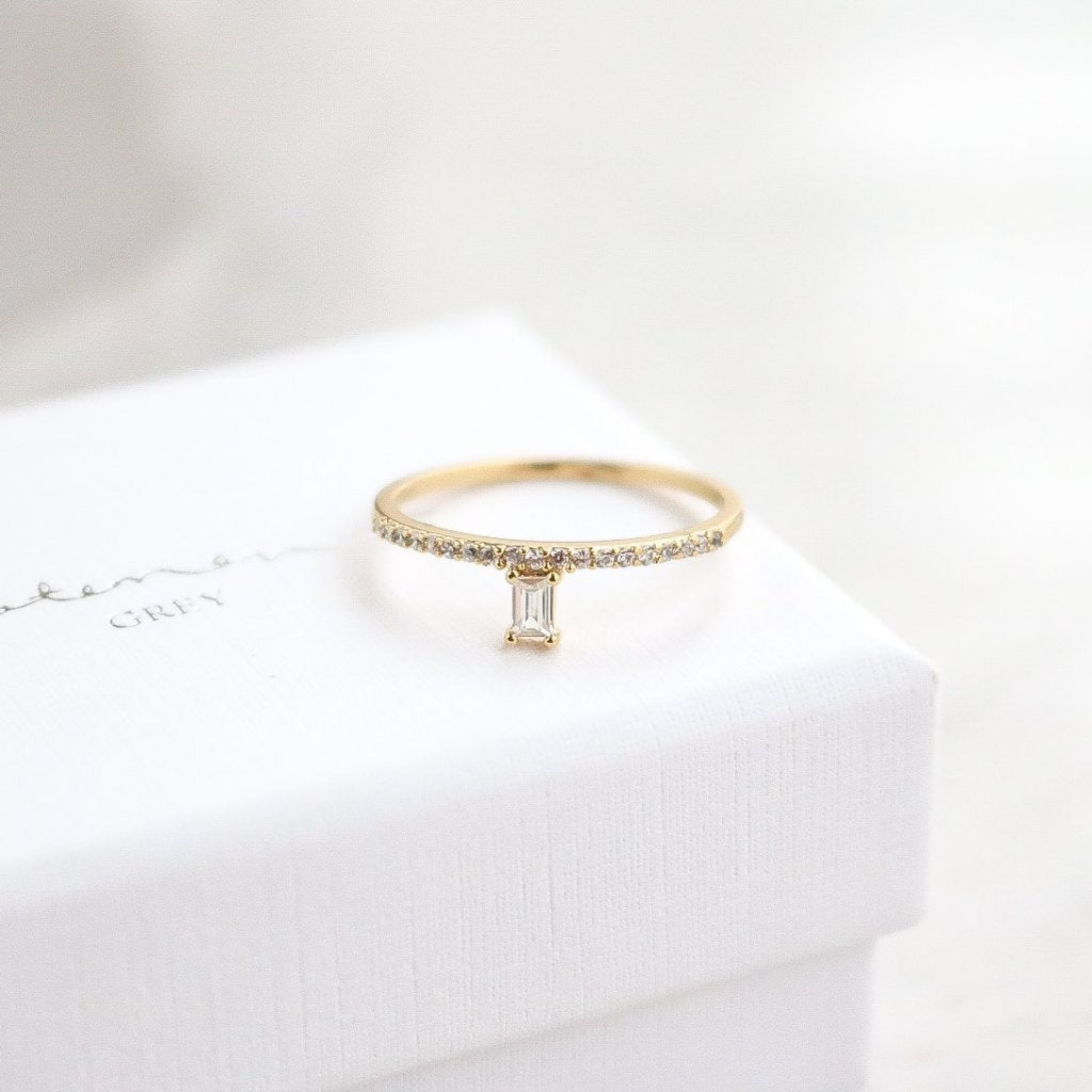 Emerald Ring - Gold