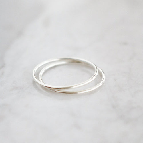 Fin Ring - Sterling Silver (Silver)