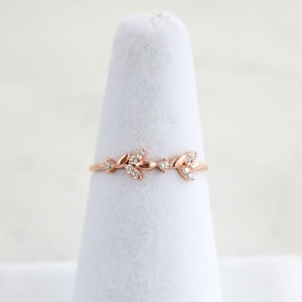 Feuilles Ring - Rose Gold