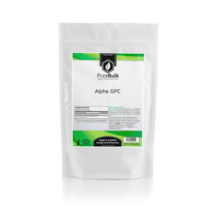 Alpha GPC Powder Pure and Capsules