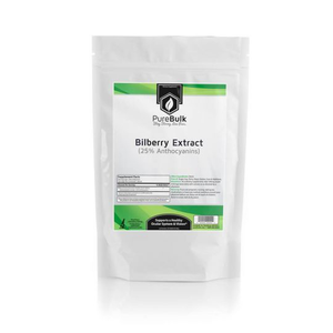 Bilberry Extract 25% Anthocyanins Powder