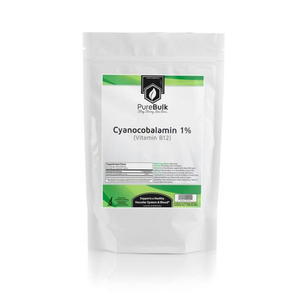 Cyanocobalamin 1% (Mannitol 99%) (Vitamin B12) Powder and Capsules