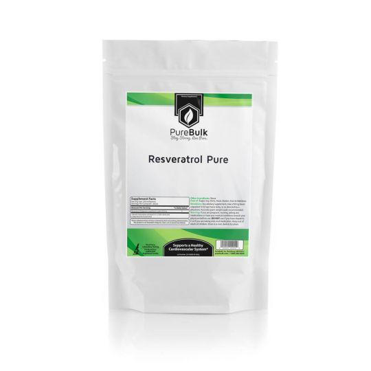 Resveratrol Powder Pure Bulk Vitamins Supplements Purebulk Inc