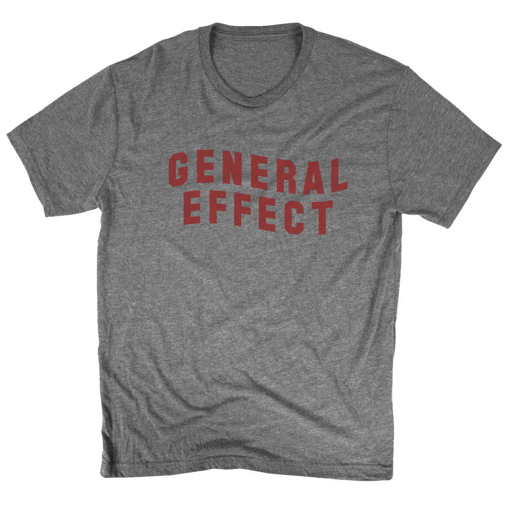 General Effect Tee Red