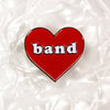 Band Love Lapel Pin