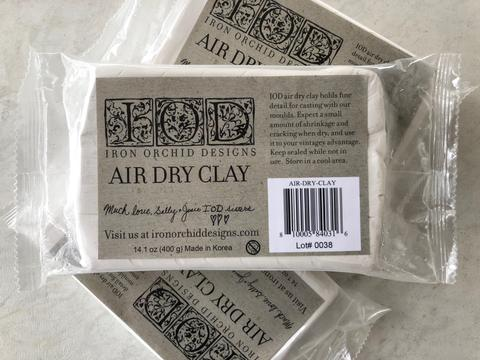IOD Air Dry Clay For Moulds
