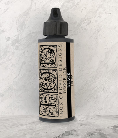 IOD Decor Ink Black 2 oz