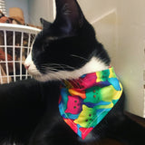 Trippy Kitty Bandana
