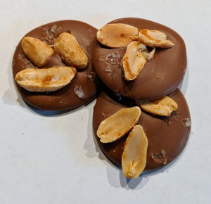 Mendiants- Milk Chocolate & salted peanut