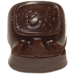 Canela and Almond Dark Chocolates