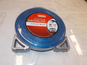 Oregon 20-101 supertwist Platinum Gatorline trimmer line  .105 105 1lb 236 feet