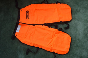 "Oregon 564132-36 safety chainsaw chaps protective  leggings 36"" length Medium"