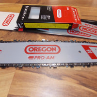 "14"" Oregon 140SXEA074 guide bar & 91VXL050 Chain fits MS 170, 180, 200T, MS 211 chainsaw 91 series PICCO"
