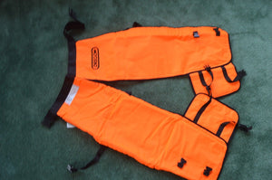 "Oregon 564134-40 safety chainsaw chaps protective  leggings 40"" Wrap length long"