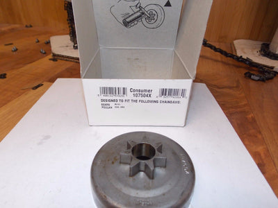 Oregon 107504X chainsaw saw sprocket .325 pitch fits (Poulan) 285, 305, 330, 335