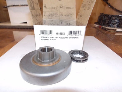 Oregon 108565X chainsaw saw sprocket 3/8 pitch fits (Husqvarna) 355,357,357XP