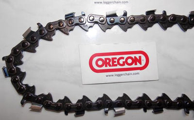 68LX108G Oregon PowerCut Full Chisel chain 063 gauge 108 DL 404 pitch