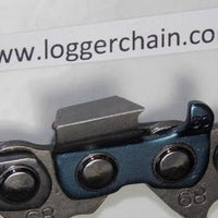 68LX104G Oregon PowerCut Full Chisel chain 063 gauge 104 DL 404 pitch