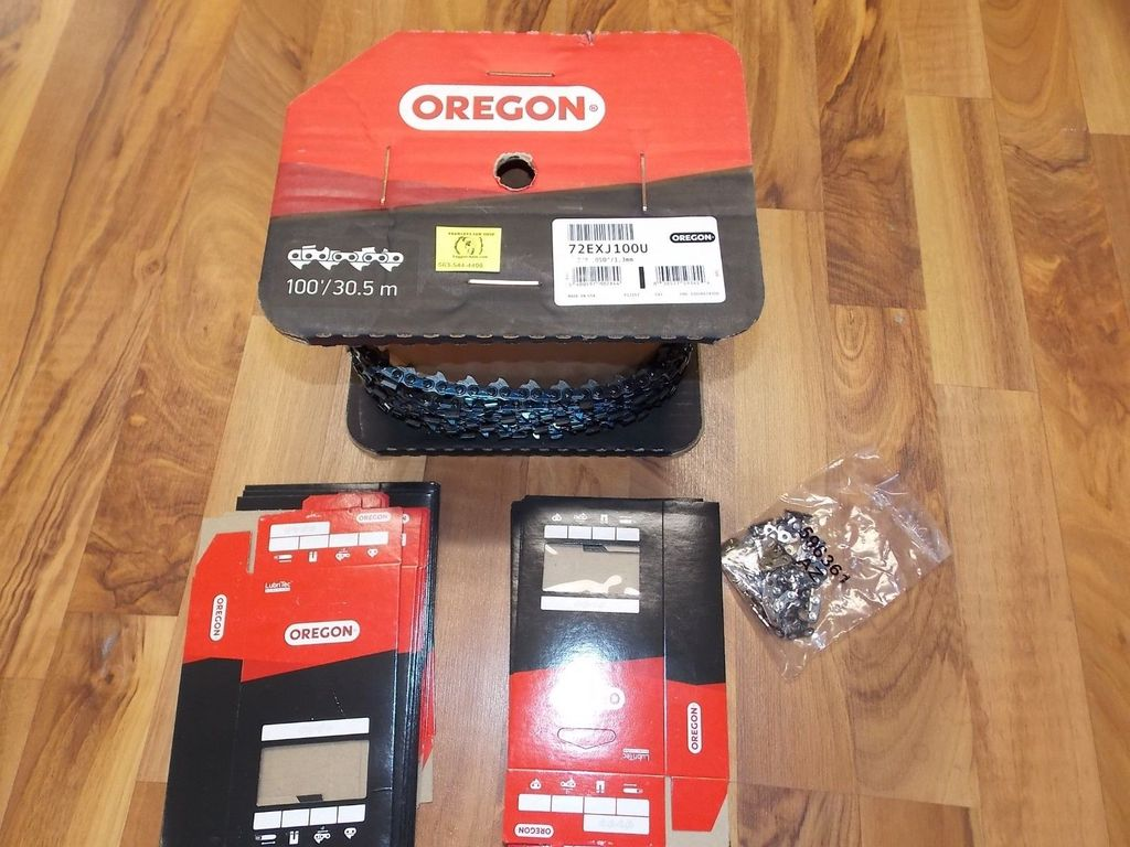 72JGX100U 100' roll Oregon Full Skip chisel chainsaw chain 3/8 .050 skip tooth supersedes to new 72EXJ100U