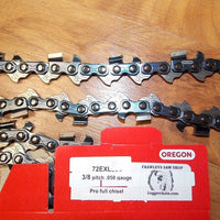 72EXL074 3/8 pitch .050 gauge 74 DL PowerCut Full chisel saw chain