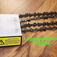 73DPX VersaCut chainsaw chain 3/8 pitch .058 gauge semi-chisel