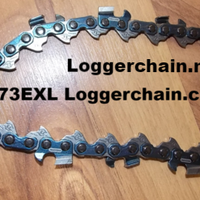 "73EXL105 32"" 3/8 pitch .058 gauge 105 DL PowerCut Full chisel saw chain"
