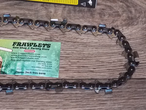 "73JGX110G 34"" Oregon saw chain superseded to 73EXJ110G PowerCut"