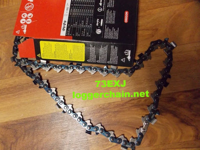 73EXJ058G 3/8 pitch 058 gauge 58 drive link Full Skip Saw chain Oregon