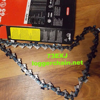 73EXJ110G 3/8 pitch 058 gauge 110 drive link Full Skip Saw chain Oregon
